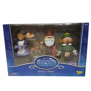 Memory Lane Rudolph and The Island of Misfit Toys - Santa and Friends Sealed